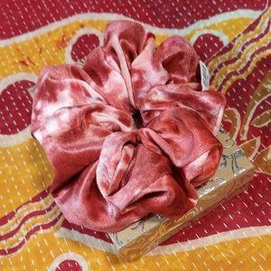 Free People tie dye super scrunchie